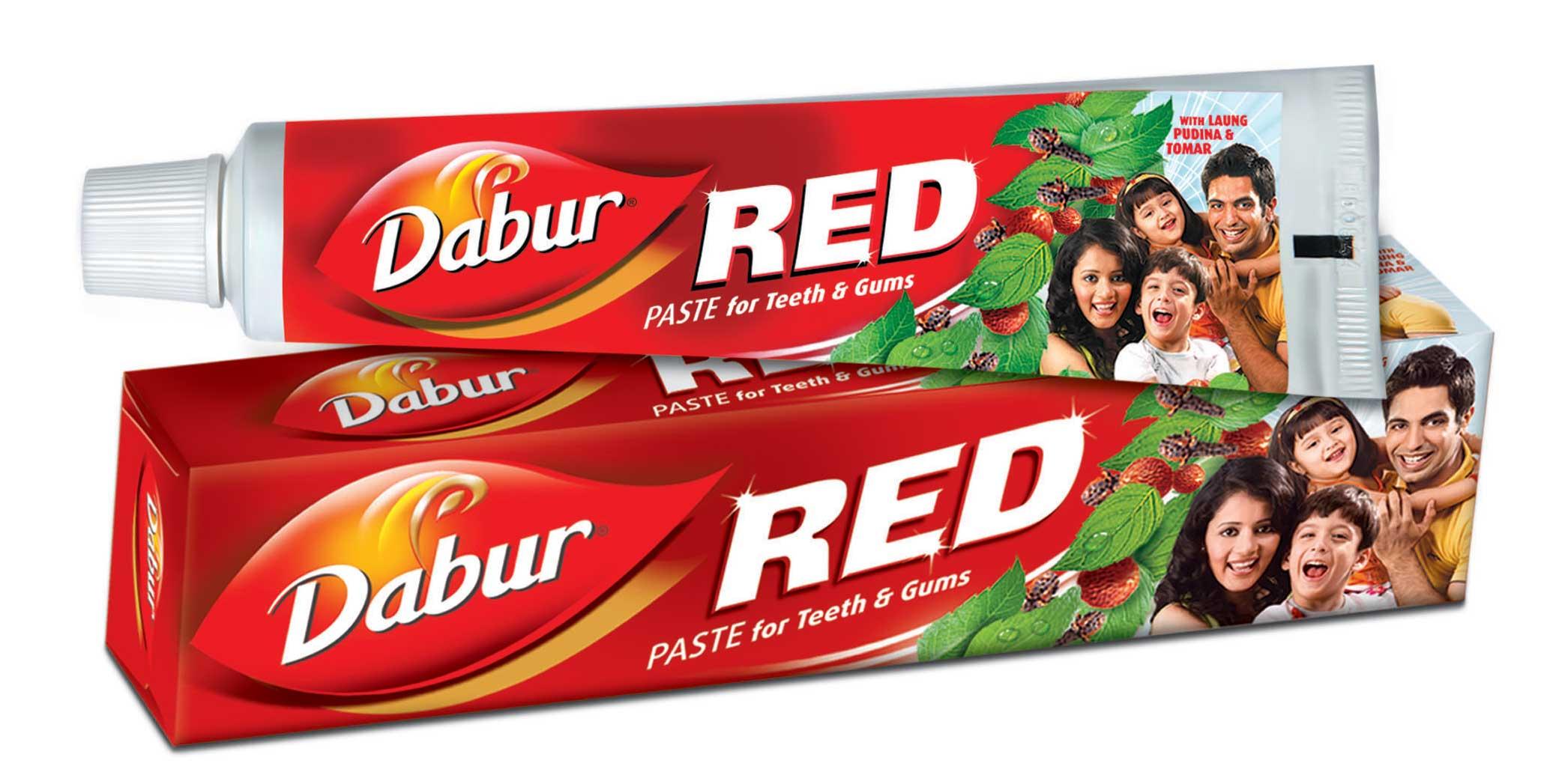 dabur red toothpaste free smaple