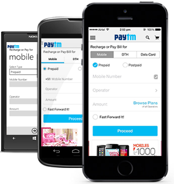 paytm wallet cashback offers