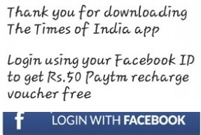 Paytm Free Recharge voucher of Rs 50 : TOI News App - Promo