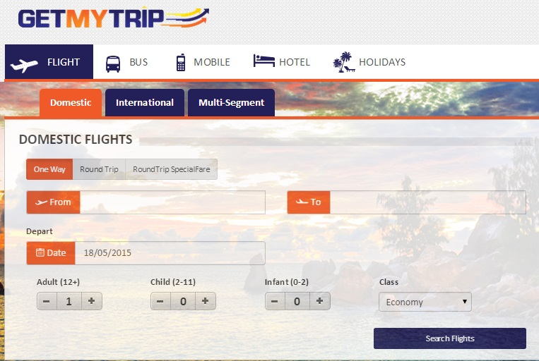 Discount coupon for air ticket booking
