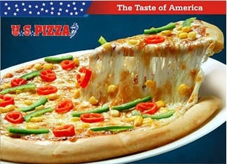 US PIZZA offer