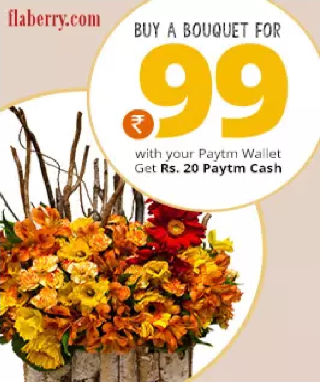 Flaberry Paytm offer