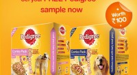 Pedigree food sample