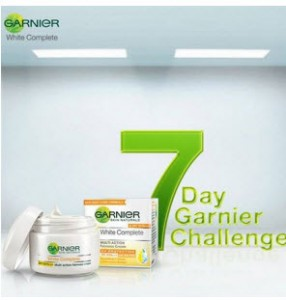 Free Garnier Cream Sample