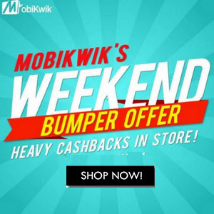 Mobikwik discount coupon