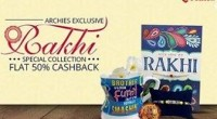 Paytm Archies Rakhi Offer