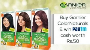 Garnier Color Naturals Cream offer