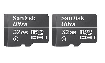 sandisk ultra 32gb class 10 sd card pack of 2 at rs 1000. Black Bedroom Furniture Sets. Home Design Ideas