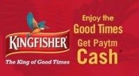 Paytm Kingfisher Offer