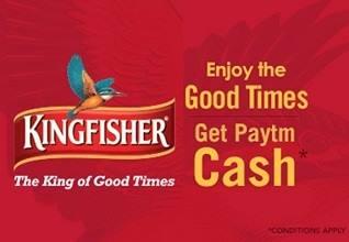 Paytm Kingfisher Offer
