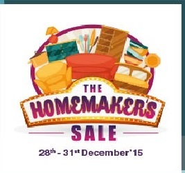 Shopclues homemakers sale upto 80 off till 31st dec for Homemakers furniture coupons