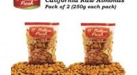 DNature fresh Almonds