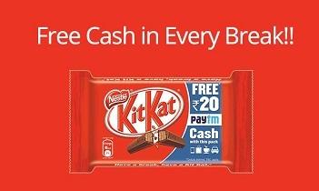 Paytm Kitkat Offer