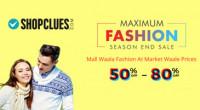 Shopclues End of Season Sale 2017