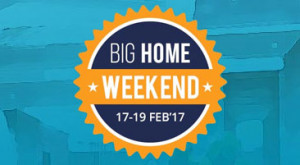 Paytm Big Home Weekend Sale Offer 2017