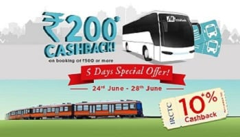 Mobikwik Bus Coupons