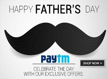Paytm Fathers Day Offer