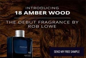 18 Amber Wood Perfume