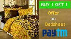 Paytm Bedsheets offer