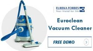 Euroclean Vacuum Cleaner free demo