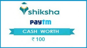 Paytm Shiksha Offer