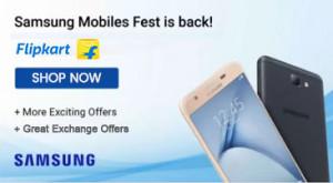 Flipkart Samsung Mobiles Fest Offers