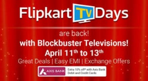 Flipkart TV Days Sale Offers