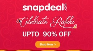 Snapdeal Rakhi Special