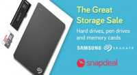 Snapdeal Great Storage Sale