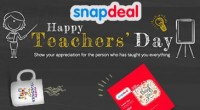 Snapdeal Teachers Day Offer