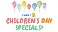 Flipkart Children's Day Offers