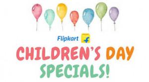 Flipkart Children's Day Offers