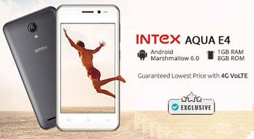 Intex Aqua E4 Buy Online