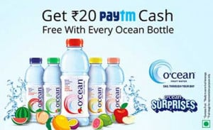 Paytm Ocean Offer FREE Paytm Cash