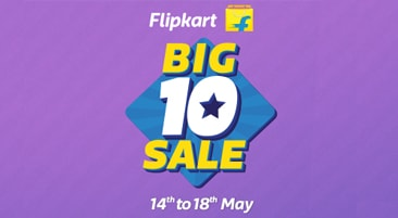 Flipkart Big 10 Sale Offers 2017