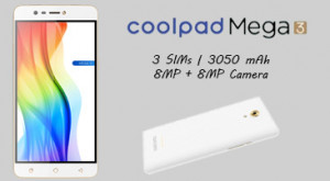 Coolpad Mega 3 Price in India