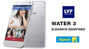 LYF Water 3 Jio 4G Offer