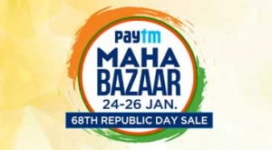Paytm Maha Bazaar Sale Republic Day Offers