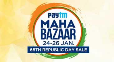 Paytm Maha Bazaar Sale Republic Day Offers