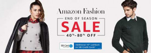Amazon Fashion Sale 2017