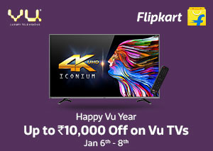 Flipkart Happy Vu Year Offers