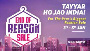 Myntra End of Reason Sale 2017