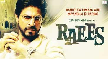 Raees Movie Ticket Booking