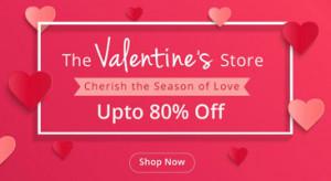Shopclues Valentine's Store