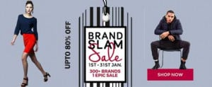 TATACliq Brand Slam Sale 2017