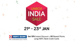 Snapdeal Unbox India Sale 2017