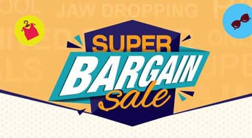Shopclues Super Bargain Sale 2017 Offers