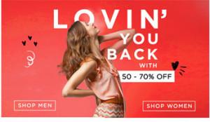 Myntra Lovin' You Back Store
