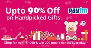Paytm Valentine's Day Gifts 2017