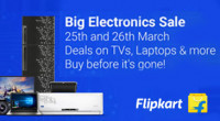 Flipkart Big Electronics Sale
